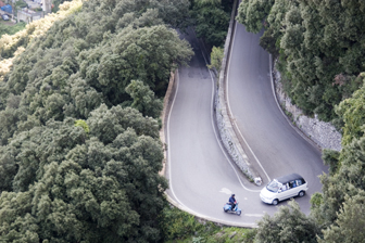 road from Anacapri