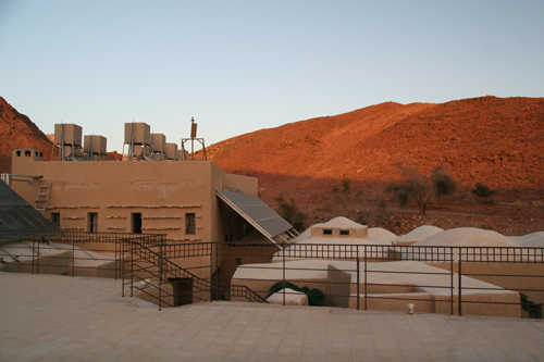 Feynan Eco Lodge from the roof